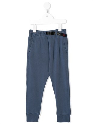 Denim Dungaree Jersey Track Pants