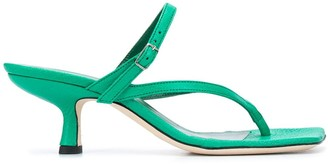 BY FAR Desiree strap sandals