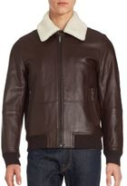 Michael Kors Mens Suede Jacket - ShopStyle
