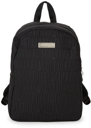 Puma Mini Quilted Logo Backpack
