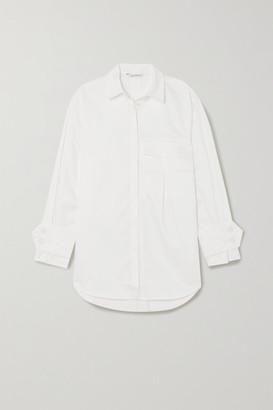 HOLZWEILER Woopsidaisy Oversized Cotton Shirt - White