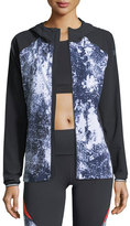 Under Armour Outrun The Storm Printed Performance Jacket