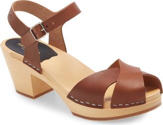 Swedish Hasbeens Mirja Platform Sandal