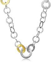 "Gurhan Hoopla"" Sterling Silver Long Chain Necklace"