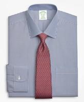 Brooks Brothers Milano Slim-Fit Dress Shirt, Non-Iron Stripe