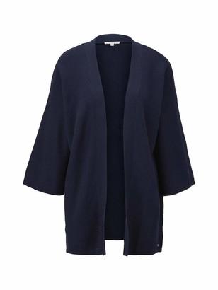 Tom Tailor Women's Strick Kimono Cardigan Sweater