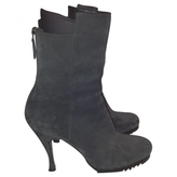 Balenciaga Anthracite Ankle boots