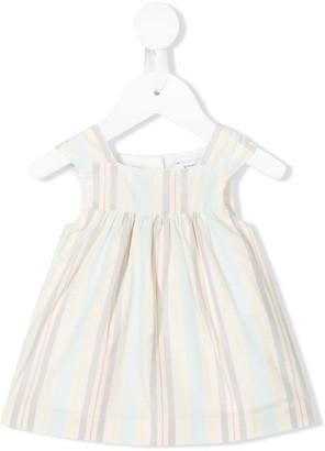 Knot Rhythm Stripes pinafore dress