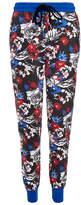 Markus Lupfer Floral Graphic Print Merino Wool Jogging Pants