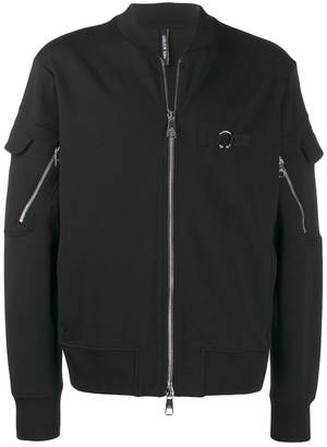 Neil Barrett multi-zip bomber jacket