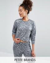 New Look Petite Leopard Print Jumper