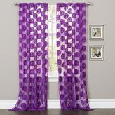 Lush Decor Arlene Sheer Curtain - 50'' x 84''
