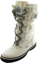 Coach Sage Women's Nylon Cold Weather Hiking Snow Boots White Size 7