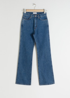 And other stories High Rise Kick Flare Jeans