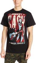 Zion Rootswear Men's Johnny Cash Nashville Poster T Shirt