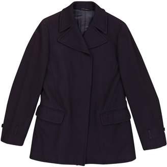 Helmut Lang Navy Wool Coats