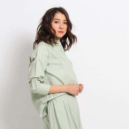 Dessin (デッサン) - Dessin(Ladies) 【洗える】タイプライタードレスシャツ