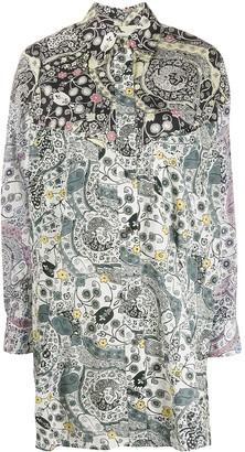 Etoile Isabel Marant Floral Print Shirt Dress