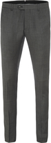 Oxford Auden Wool Suit Trousers Charcoal X
