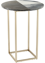 west elm Marquetry Marble Side Table