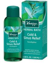 Kneipp Eucalyptus Cold + Sinus Herbal Bath by 100ml Bath)