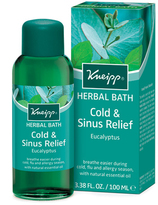 Kneipp Eucalyptus Cold + Sinus Herbal Bath