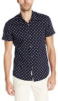 Scotch & Soda Men's Short Sleeve Hawaiian Shirt