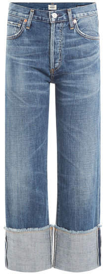 Citizens of Humanity Cuffed Cropped Jeans