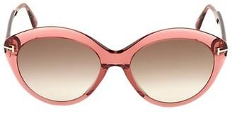 Tom Ford Maxine 56MM Cat Eye Sunglasses