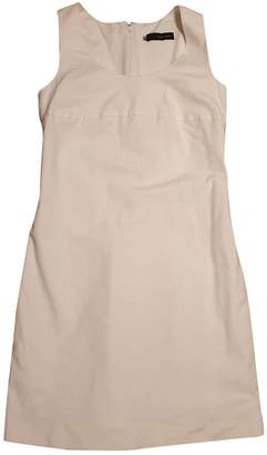 DSQUARED2 White Cotton Dresses
