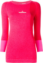 adidas by Stella McCartney Yoga seamless top - women - Polyamide/Polyester/Spandex/Elastane - XS