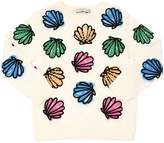 Stella McCartney Seashells Print Cotton Sweatshirt