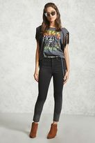 Forever 21 FOREVER 21+ Raw-Cut Skinny Jeans