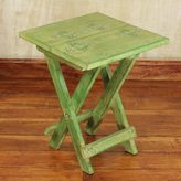 Novica Handcrafted Wood 'Transformation' Folding Table (Ghana)
