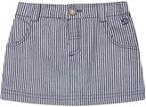 Jo-Jo JoJo Maman Bebe Nautical Striped Mini Skirt (Toddler/Kid)-Blue -4-5 Years