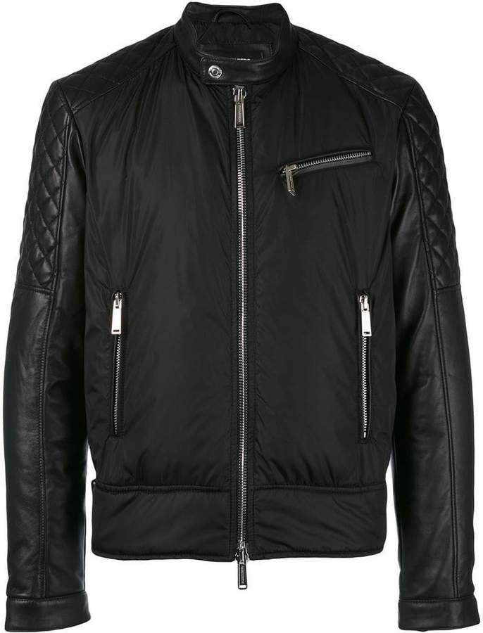 DSQUARED2 biker bomber jacket