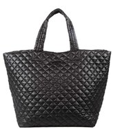 M Z Wallace 'Large Metro' Quilted Oxford Nylon Tote - Black