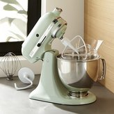 Crate & Barrel KitchenAid ® Artisan Pistachio Stand Mixer