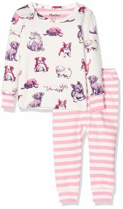 Hatley Baby Girls' Mini Organic Cotton Long Sleeve Pyjama Sets