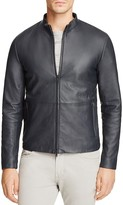Theory Arvid Lrhodes Leather Jacket