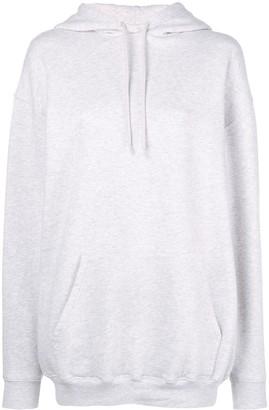 Balenciaga logo hood hoodie