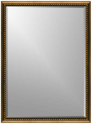 """Expressions Small Rope Wall Mirror, 8""""x10"""", Beveled"""