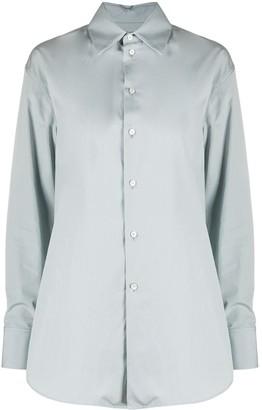 Jil Sander Cotton Long-Sleeve Shirt