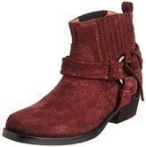 Diesel Womens Harless Suede Harness Ankle Boots