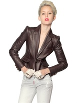 DSquared Heavy Nappa Leather Jacket