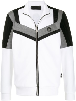 Philipp Plein Colour-Block Track Jacket