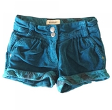 Burberry Turquoise Cotton Shorts