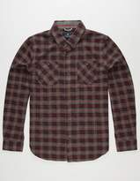 ROARK REVIVAL Blue Buck Mens Flannel Shirt