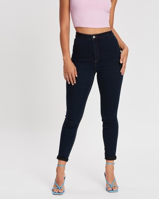 Missguided Vice High-Waisted Skinny Jeans