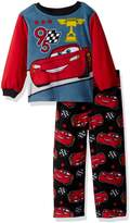 Disney Toddler Boys' Cars 2-Piece Fleece Pajama Set